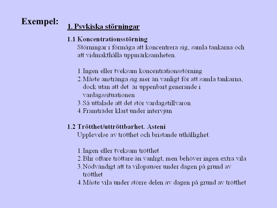 Exempel:
