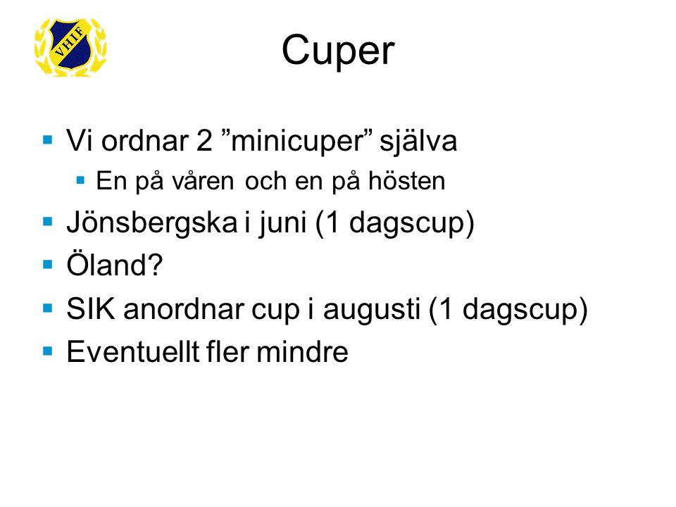  Uppstartsläger 25-26/4  Kräver föräldraengagemang  Tränare utifrån: Tobbe Hallberg  Sören kallar till planeringsmöte med tränare och föräldragrupp Uppstartsläger