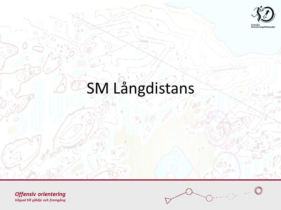 Offensiv orientering Vägval till glädje och framgång SM Långdistans