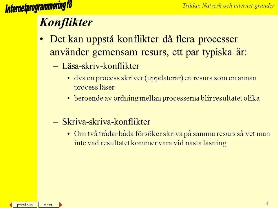 previous next 5 Trådar.