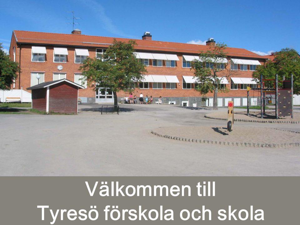 Välkommen till Tyresö förskola och skola