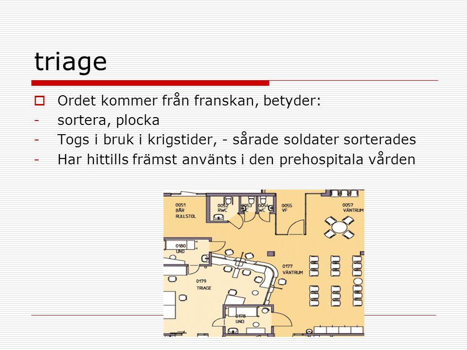 sekundär evaluering  A=airway fria luftvägar  främmade föremål/blod/uppkastningar  tungan  Intubation