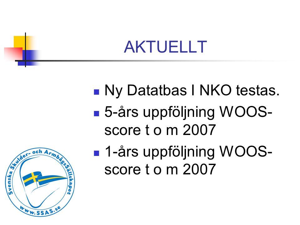 AKTUELLT Ny Datatbas I NKO testas.