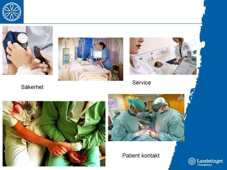Service Säkerhet Patient kontakt