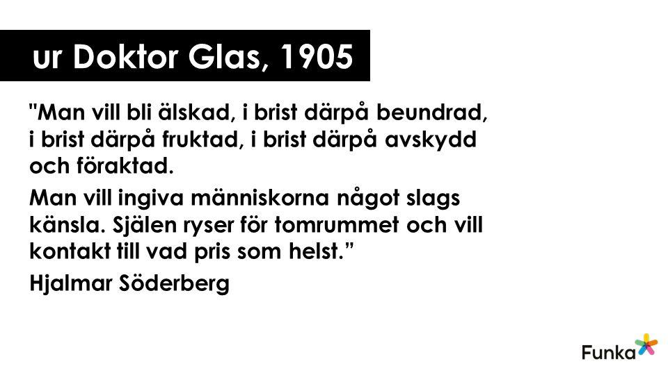 ur Doktor Glas, 1905