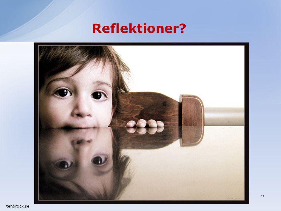 Reflektioner tenbrock.se 11