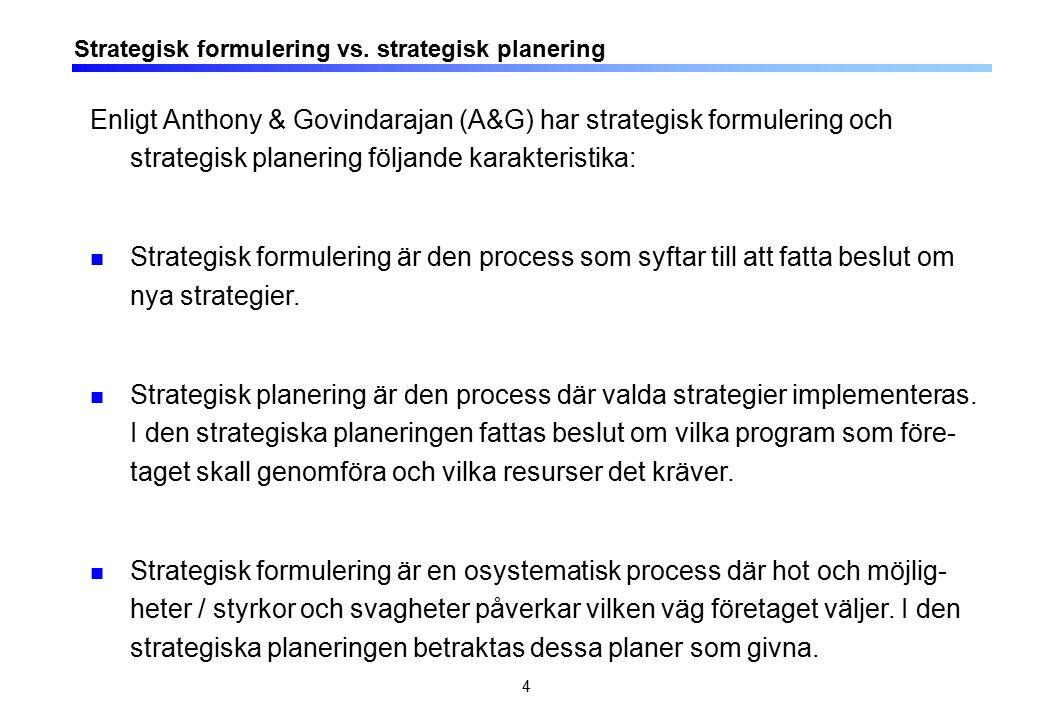 15 Budgetkritiken: Kalenderdriven med fokus på kostnadsreduktion There are several ways in which management processes are inimical to innovation.