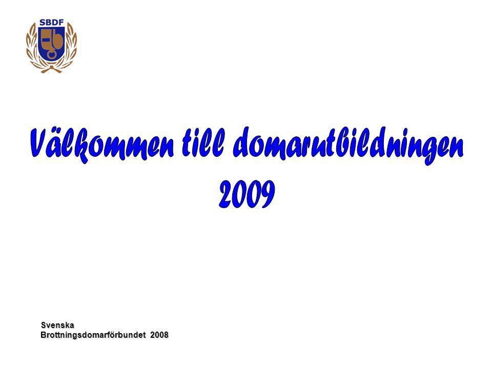 Svenska Brottningsdomarförbundet 2008