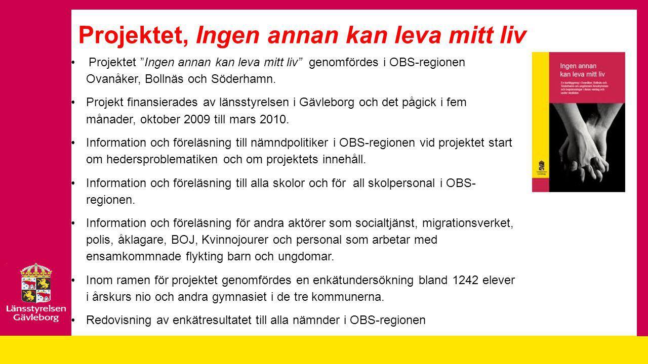 Utvecklingsarbetet i Söderhamns kommun Det finns två centrala faktorer i kommunens utvecklingsarbete vilka bidragit till att synliggöra problematiken inom hedersrelaterat våld 1.Förståelsen och viljan till samverkan hos de ansvariga på politisk- och förvaltningsnivå 2.