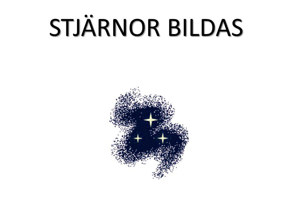 STJÄRNOR BILDAS