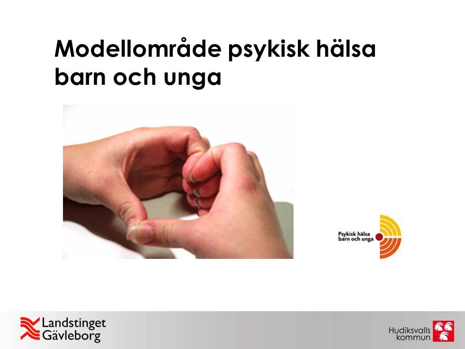 Modellområde psykisk hälsa barn och unga