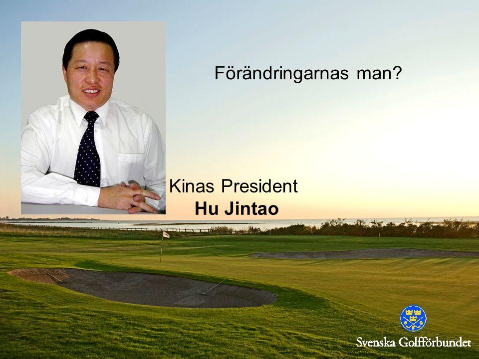 Förändringarnas man? Kinas President Hu Jintao
