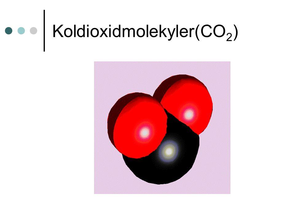 Koldioxidmolekyler(CO 2 )