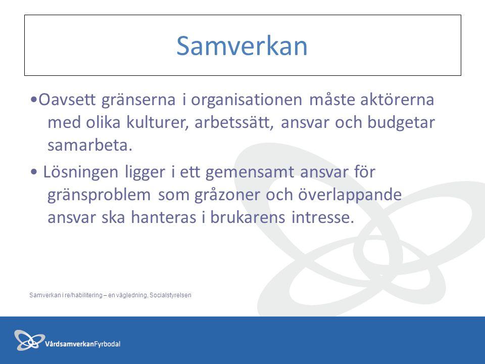 Oavsett gränserna i organisationen måste aktörerna med olika kulturer, arbetssätt, ansvar och budgetar samarbeta.