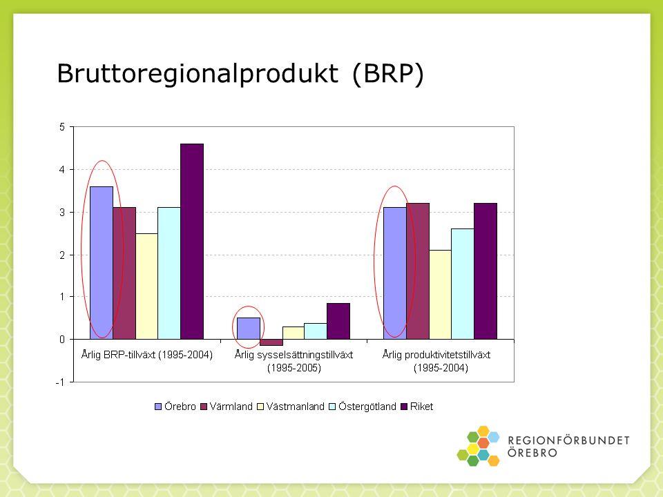 Bruttoregionalprodukt (BRP)