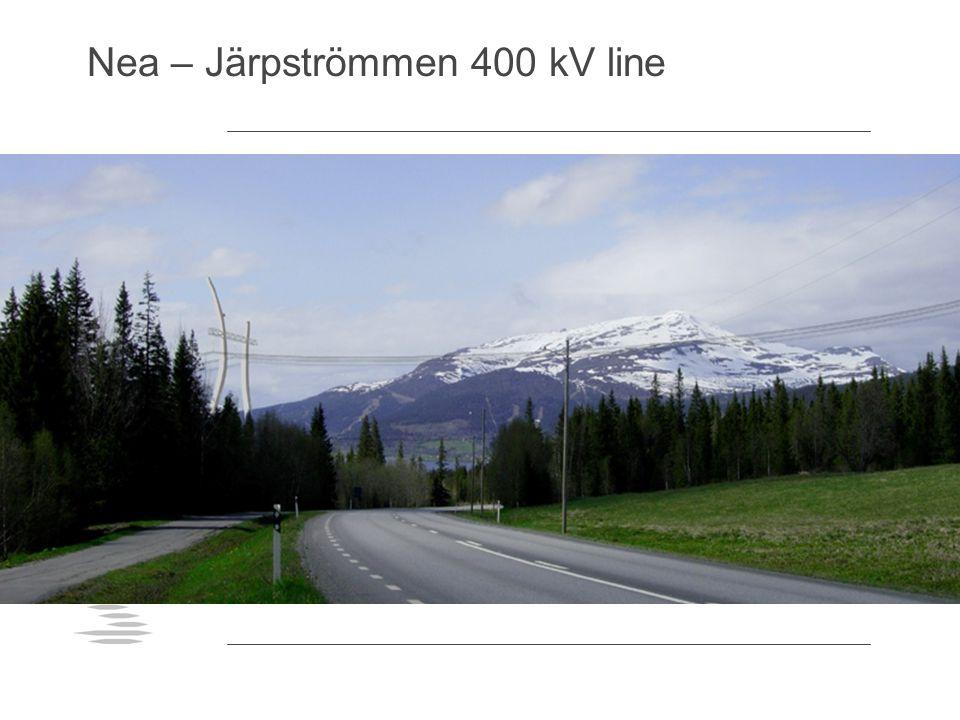 Nea – Järpströmmen 400 kV line