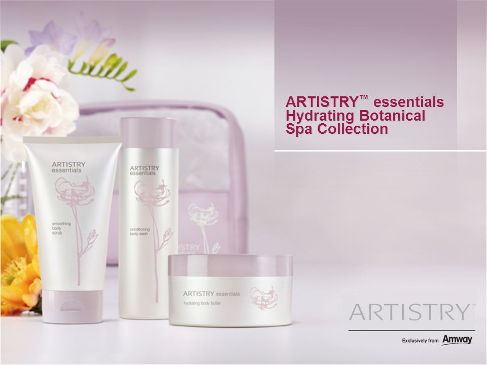 ARTISTRY ™ essentials Hydrating Botanical Spa Collection