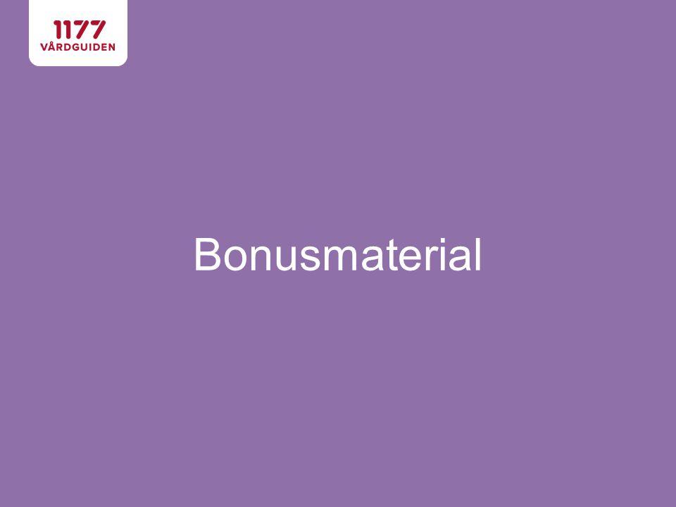 Bonusmaterial