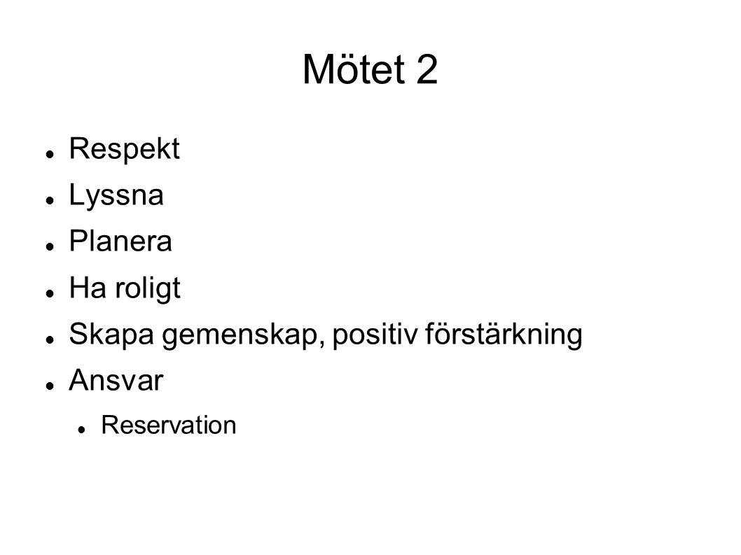 Formalia Kallelse Föredragningslista / dagordning Röstlängd OBS.