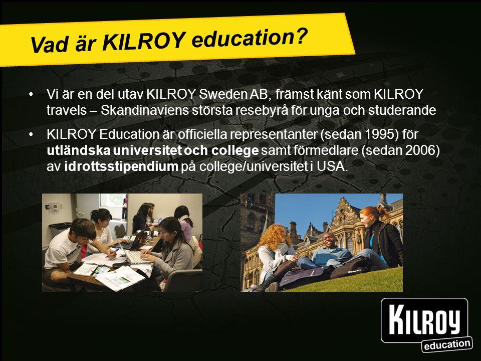 Vad är KILROY education.