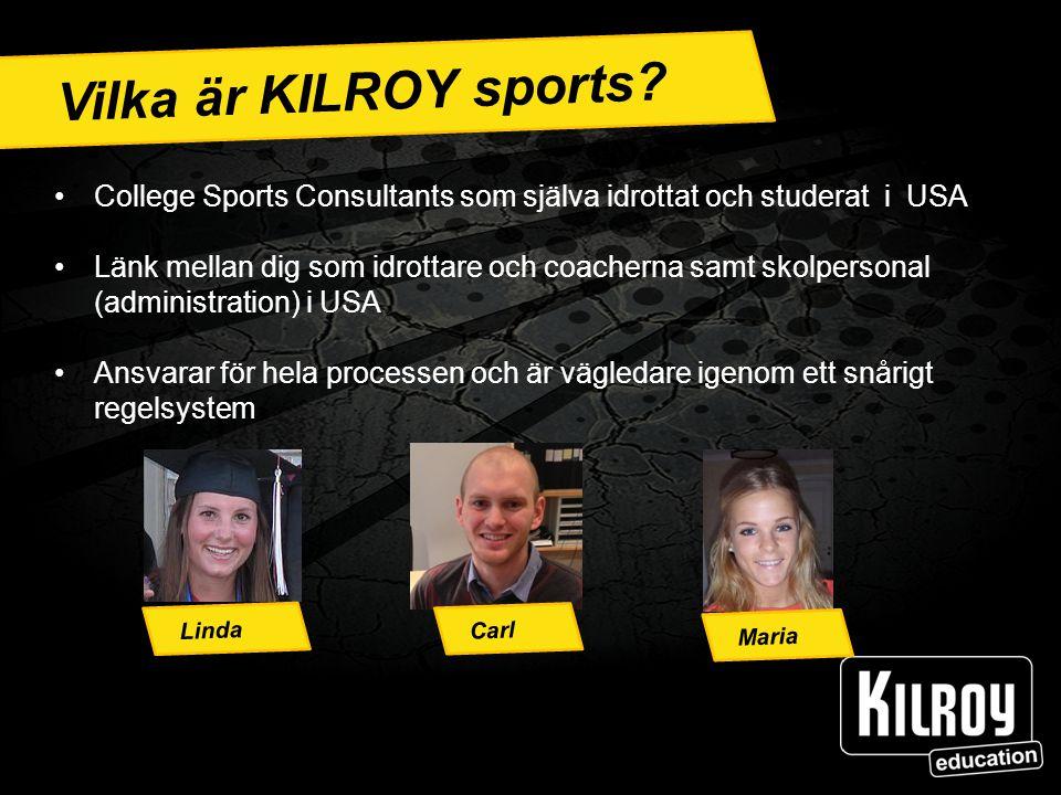 Ann Vilka är KILROY sports.