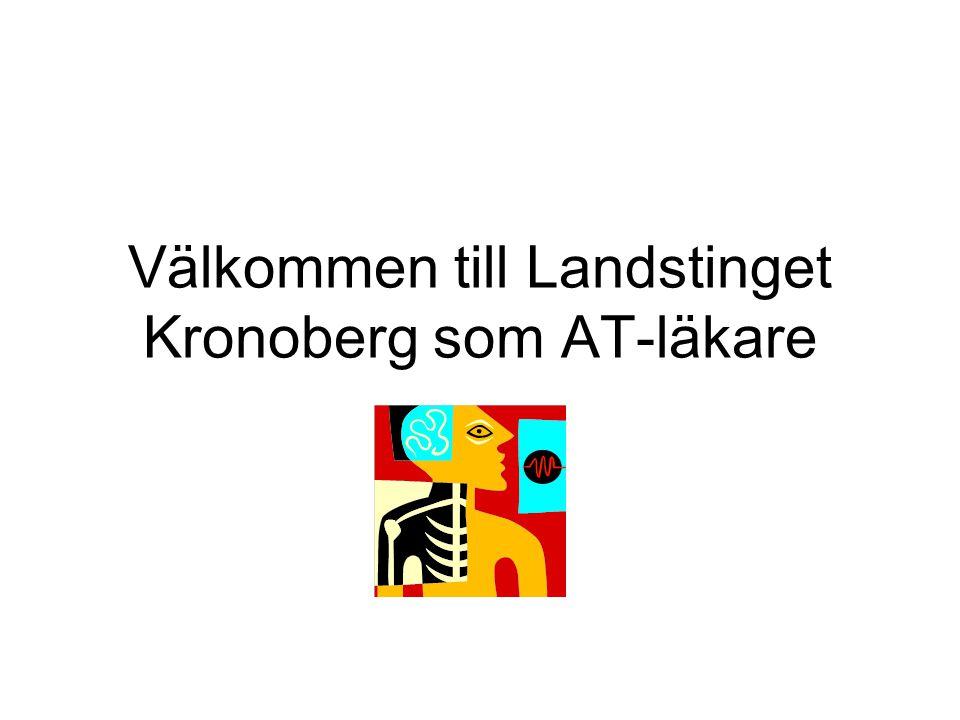 Välkommen till Landstinget Kronoberg som AT-läkare