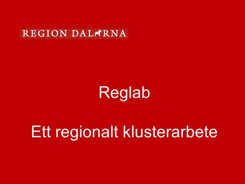 Reglab Ett regionalt klusterarbete