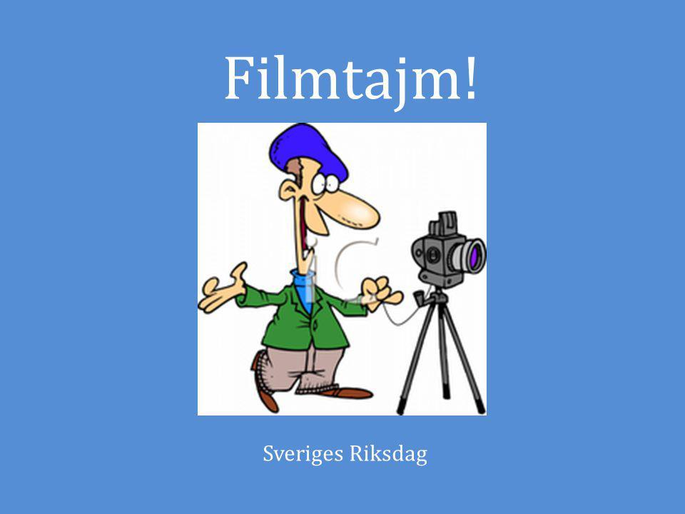 Filmtajm! Sveriges Riksdag