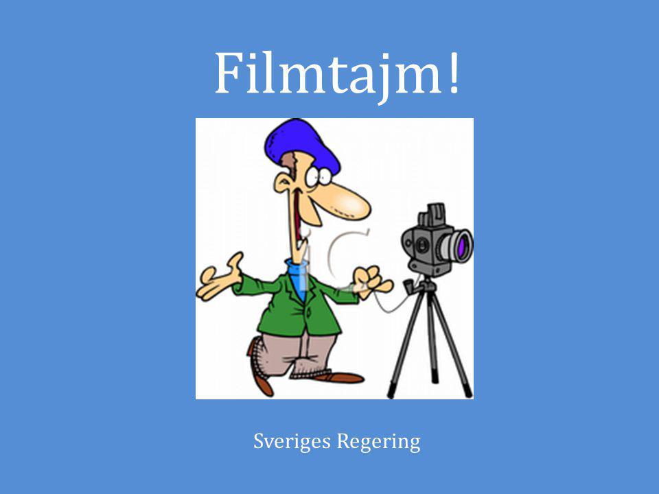 Filmtajm ! Sveriges Regering