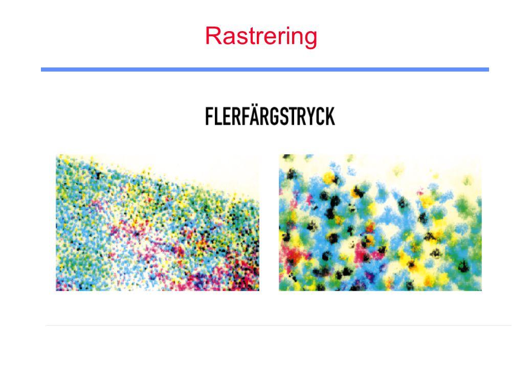 Rastrering