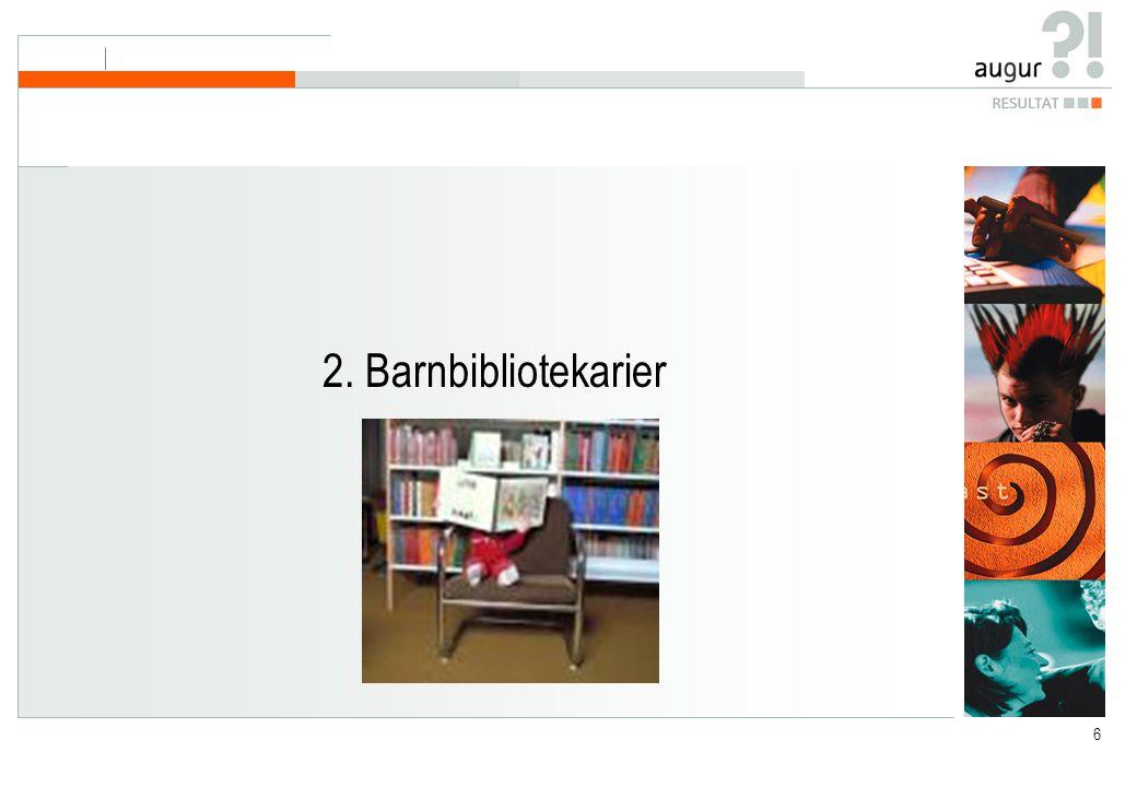 6 2. Barnbibliotekarier