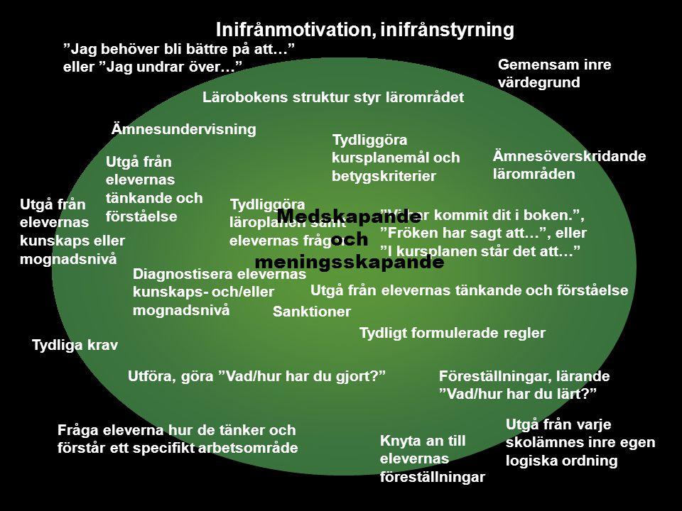 FILL-resultat Skolledarskap utifrån ett lärarperspektiv –Tydlighet.