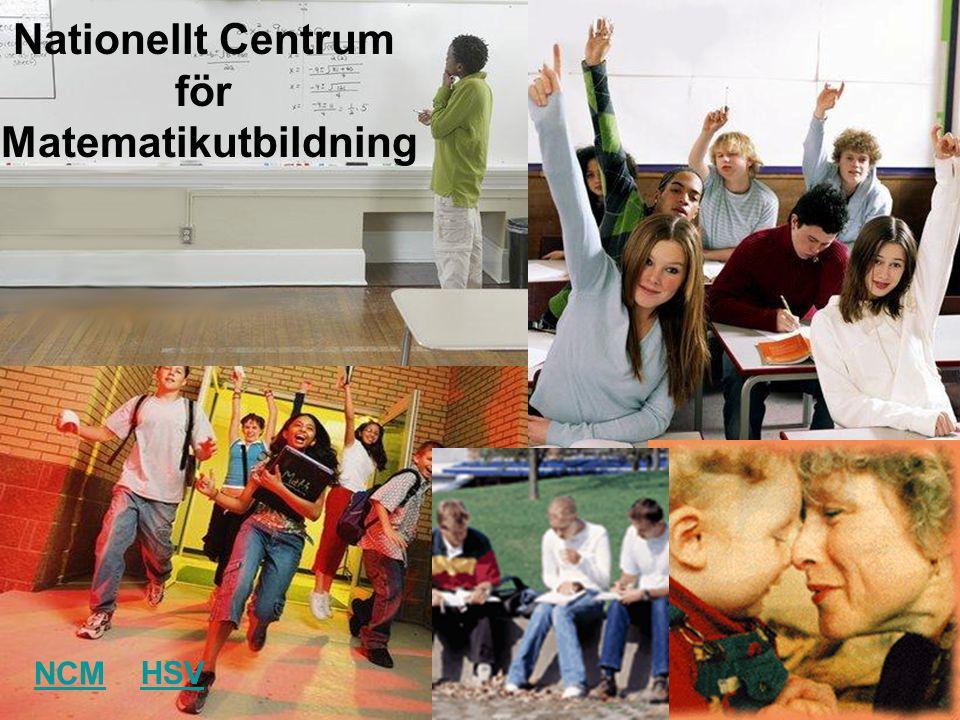 Nationellt Centrum för Matematikutbildning NCM HSV