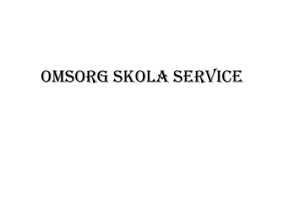 Omsorg Skola Service