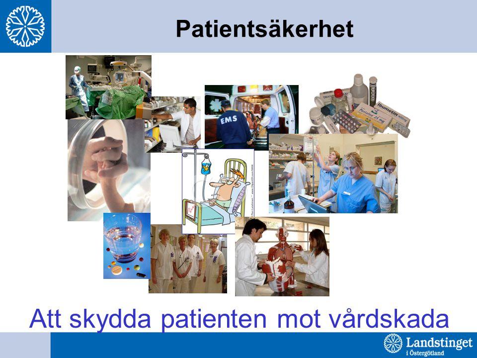 Patientsäkerhet Att skydda patienten mot vårdskada