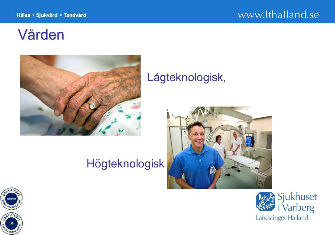 Hälsa Sjukvård Tandvård 12 Högteknologisk Lågteknologisk, Vården