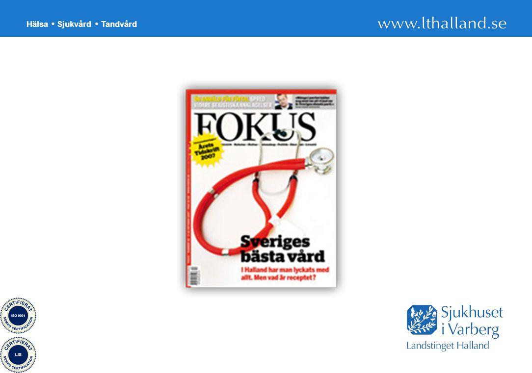 6 Bra betyg för sjukvården Läkarna i Halland är fortfarande sämst på landets vanligaste operation.