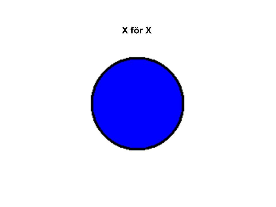 X för X