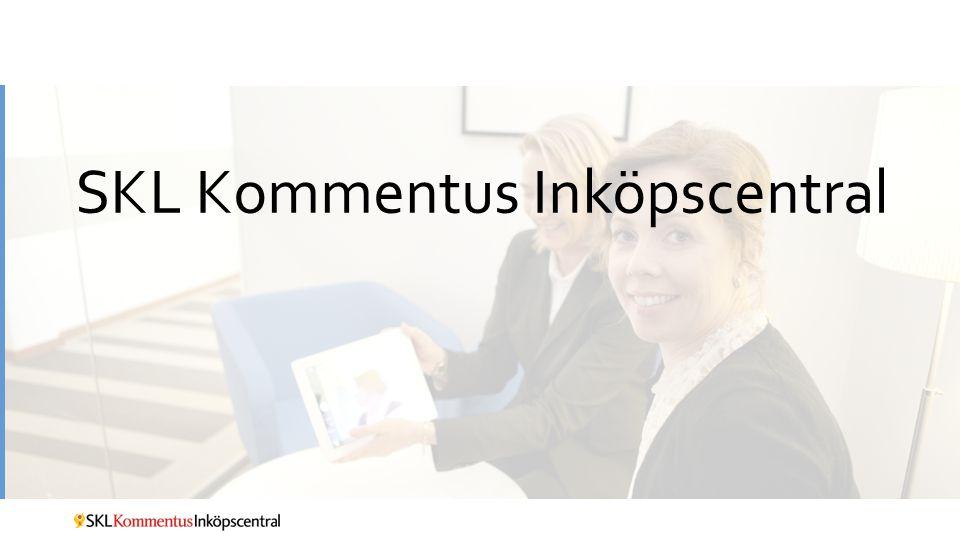 SKL Kommentus Inköpscentral