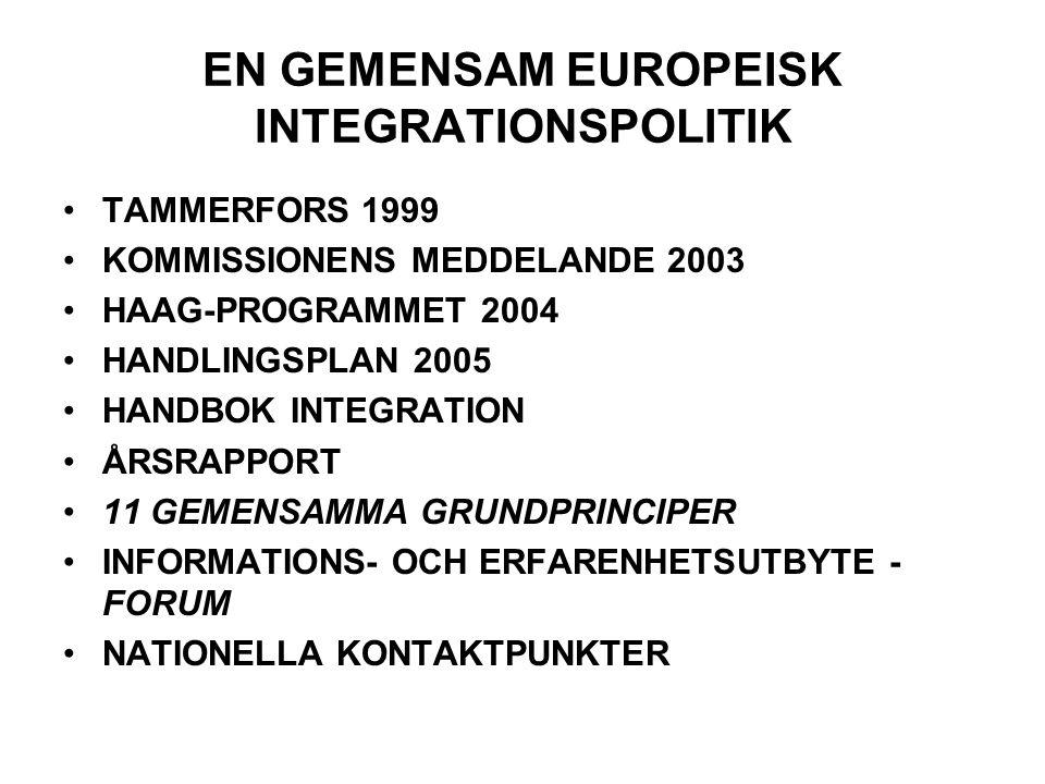 ELVA GEMENSAMMA GRUNDPRINCIPER 1.