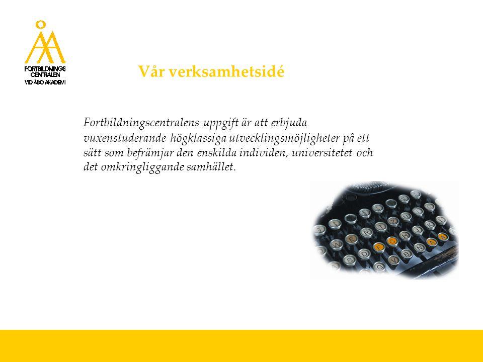 EU-projekt Vi har mångårig erfarenhet av EU-projekt i egenskap av koordinator och samarbetspart Aktuella EU-projekt: KOKE - Utvecklingsprogram för högutbildade (ESF) Med sikte på farmaceutexamen 2005-08 (ESF) Work Based Learning 2004-06 (WBL) (Grundtvig) Gräv där du står 2005-07 (ESF) Itämeri-hanke/Östersjön 2004-06