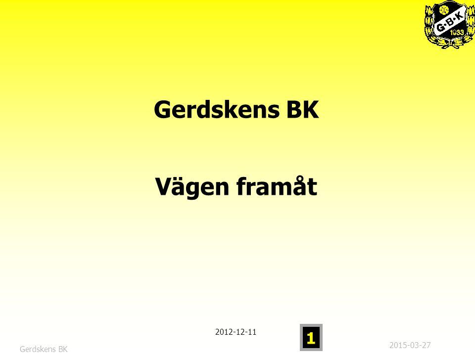 2015-03-27 1 Gerdskens BK Vägen framåt 2012-12-11 Gerdskens BK