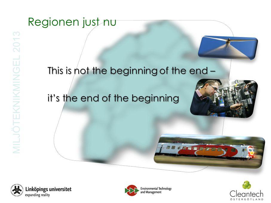 6 MILJÖTEKNIKMINGEL 2013 Östsam Regionalt utvecklingsprogram (RUP) –Bas de tre dimensionerna av hållbar utveckling –8 strategier No 6: Stimulera ett dynamiskt företags- och innovationsklimat för Östergötland –Miljöteknik, gröna näringar… No 7: Ställa om Östergötland till en robust och resurssnål region –Insatsprogram ….