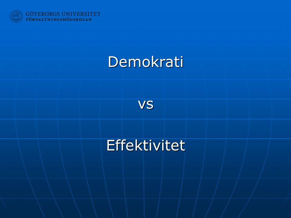 DemokrativsEffektivitet