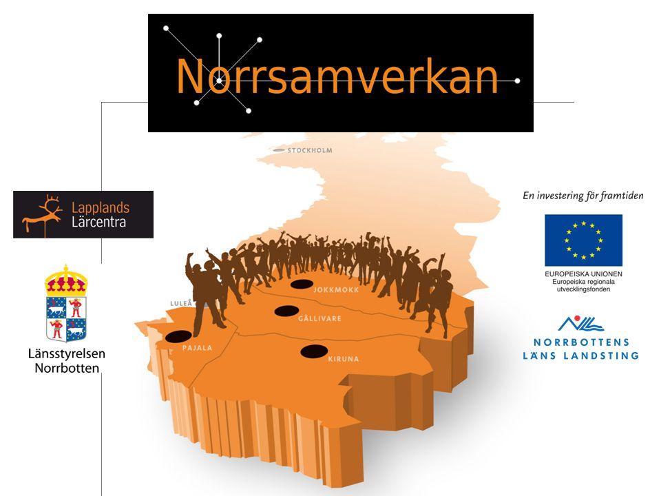 Norrsamverkan: Är ett projekt som riktar sig till små och medelstora företag inom: Basindustrin Besöksnäring Livsmedelproduktion Samiska näringar Projektet pågår 2010-08-01 – 2013-07-31