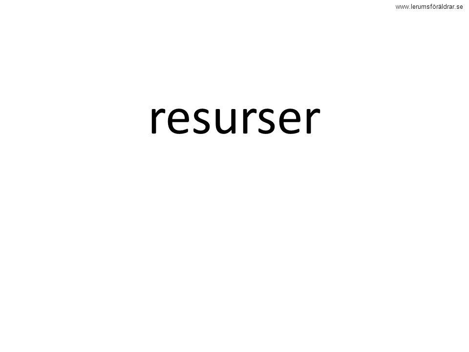 www.lerumsföräldrar.se resurser
