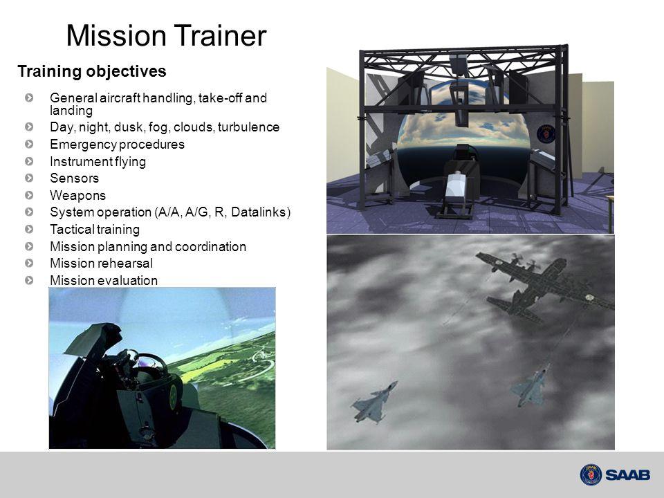 Bakgrund  Leverans av Mission Trainer simulatorn till Sydafrika.