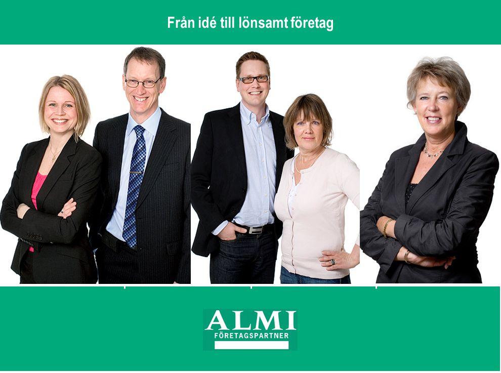 2.ALMI Företagspartner AB 40 kontor över hela landet.