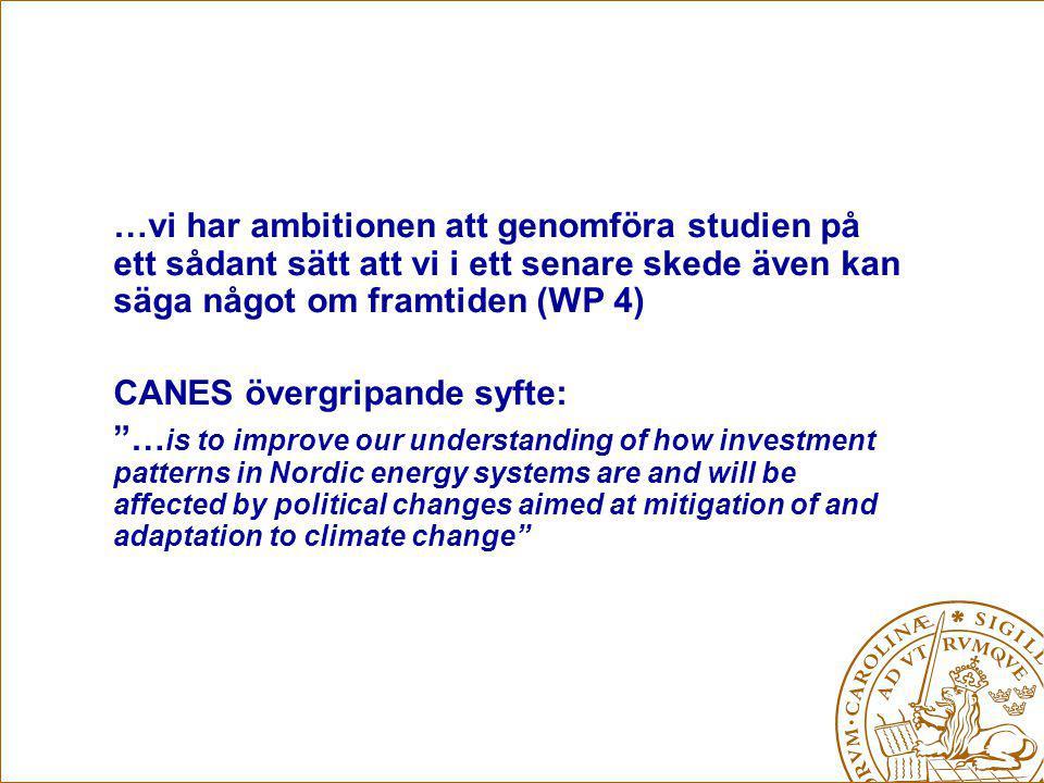 CANES-möte Oslo 10 nov.