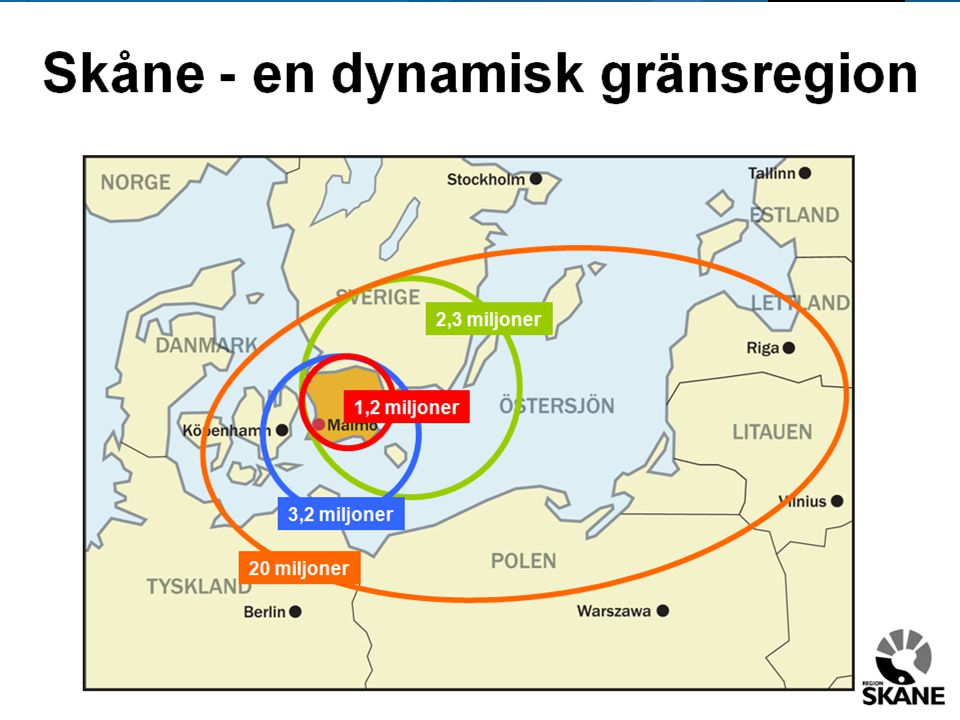 Skåne har varit en av de största bidragsgivarna till Sveriges samlade tillväxt (2000-2007)